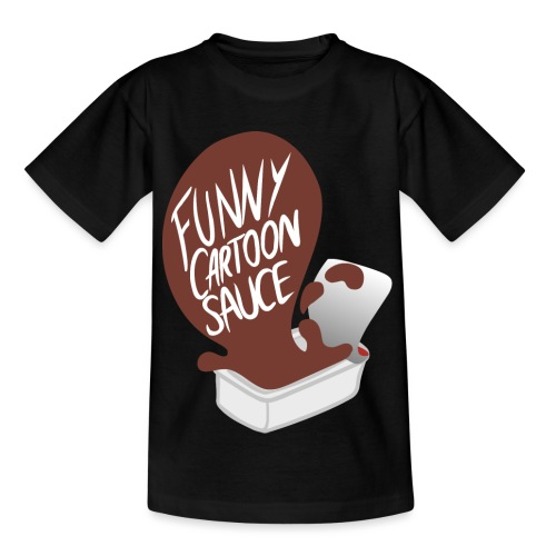 FUNNY CARTOON SAUCE - FEMALE - Kids' T-Shirt