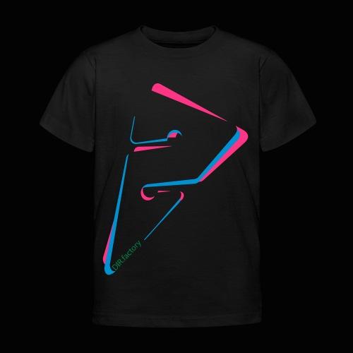 arrow freigestellt mit dirfactorytext - Kinder T-Shirt