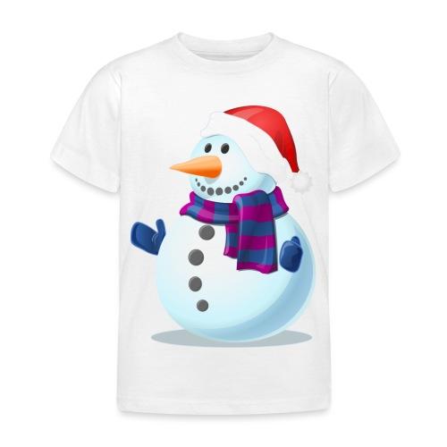 Świąteczny Bałwanek - Koszulka dziecięca