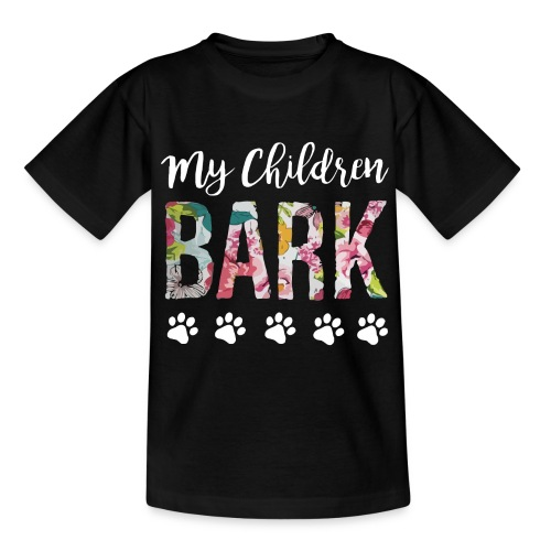 My children bark dog shirt - Kids' T-Shirt