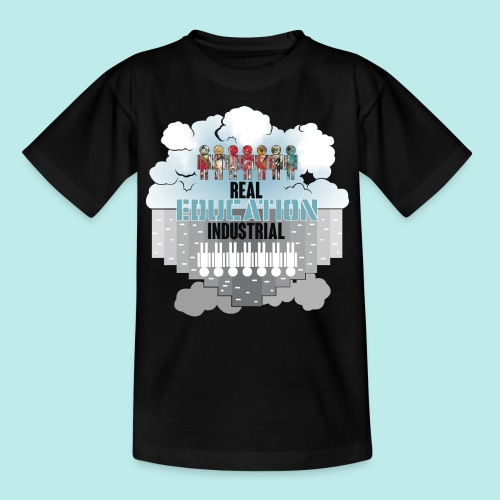 Real Education vs. Industrial Education - Camiseta niño