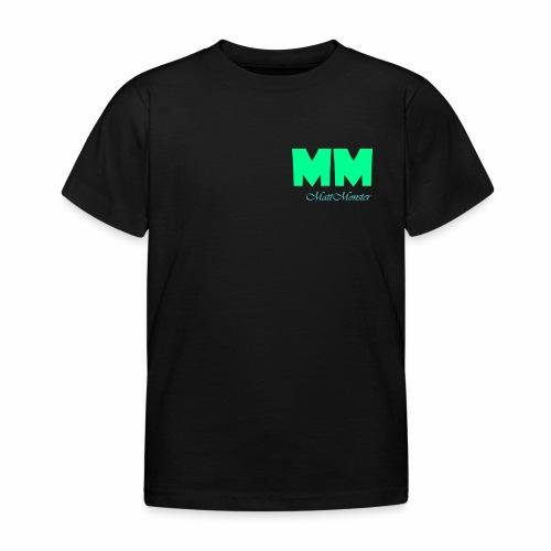 MattMonster Signature logo - Kids' T-Shirt
