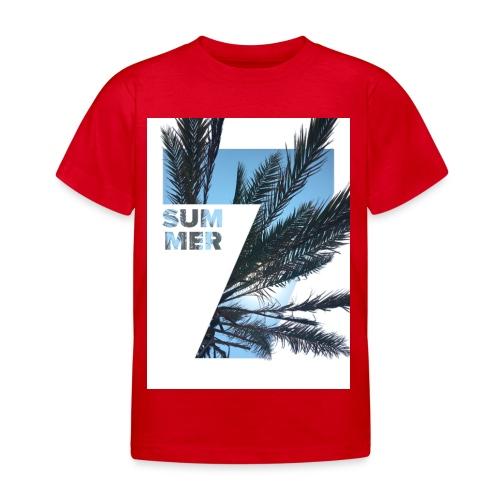 Summertime - Kinderen T-shirt