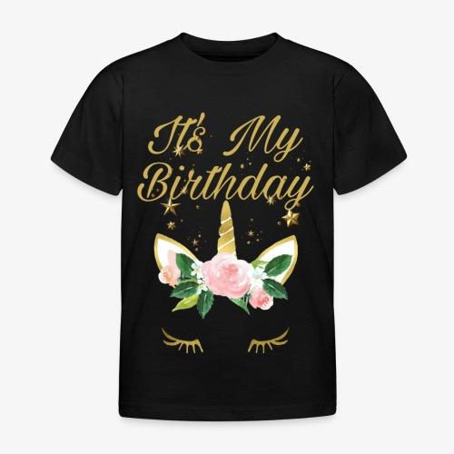 It's My Birthday - Maglietta per bambini