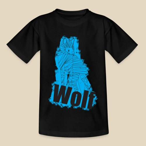 Blue Wolf - T-shirt Enfant
