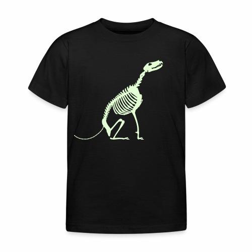 Istu Luuranko Sit Skeleton - Lasten t-paita