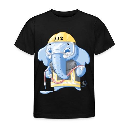 Feuerwehr Elefant - Kinder T-Shirt