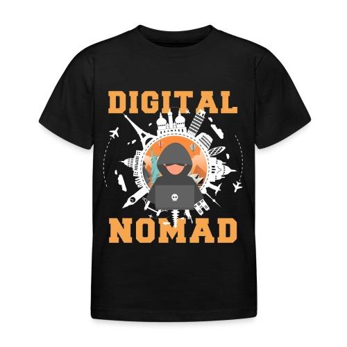 Digital Nomad - Kinder T-Shirt