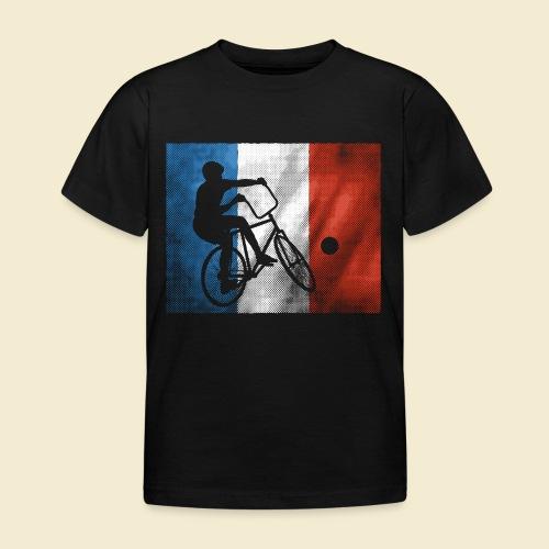 Radball | Flagge Frankreich - Kinder T-Shirt