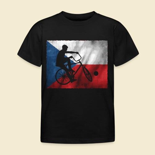 Radball | Flagge Tschechien - Kinder T-Shirt