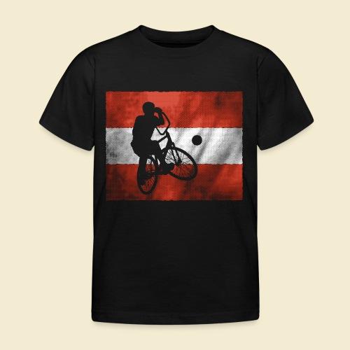 Radball | Flagge Österreich - Kinder T-Shirt