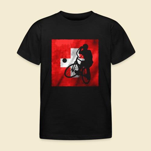 Radball | Flagge Schweiz - Kinder T-Shirt