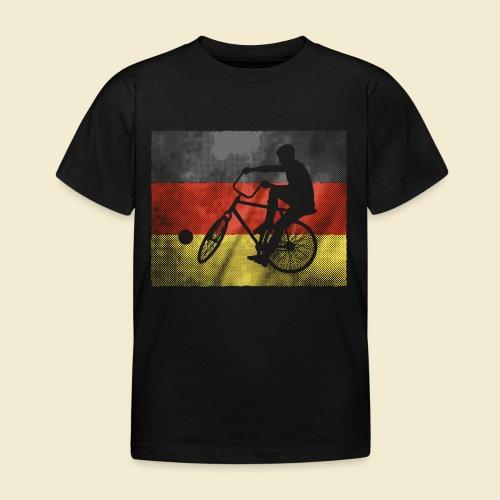 Radball | Flagge Deutschland - Kinder T-Shirt