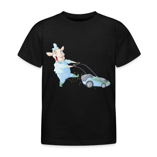 Der Rasen-MÄHER - Kinder T-Shirt