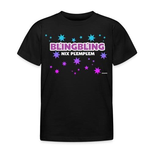 blingbling nixplemplem - Kinder T-Shirt