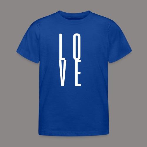 LOVEwhite - Kinder T-Shirt