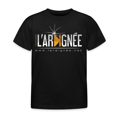 L'Araignée, le logo clair pour fond foncés - T-shirt Enfant