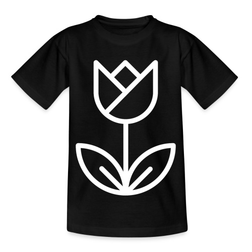 Tulip white png - Kids' T-Shirt