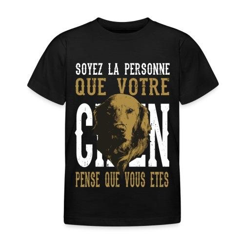 Un amour de chien - T-shirt Enfant