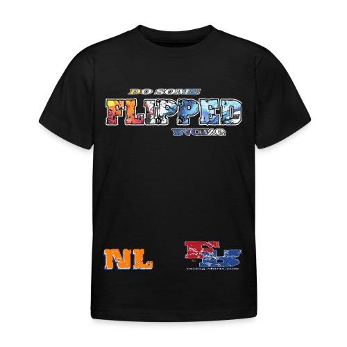 Flipped Racing, Do Some W / Logo - Kids' T-Shirt