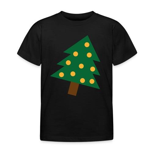 Weihnachtsbaum gold grün - XMAS - Merry Christmas - Kinder T-Shirt