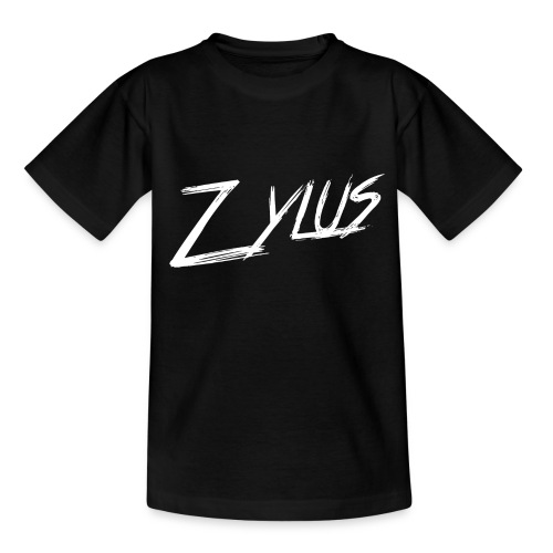 zylus logo white png - Kids' T-Shirt