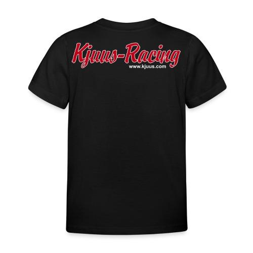 Kjuus-Racing - T-skjorte for barn
