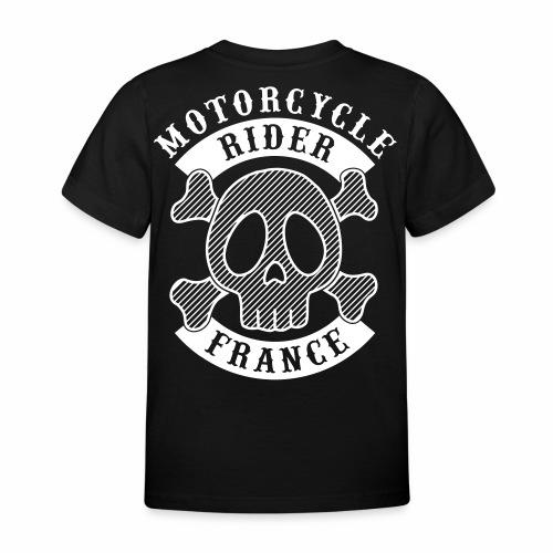 Motorcycle Rider France - T-shirt Enfant