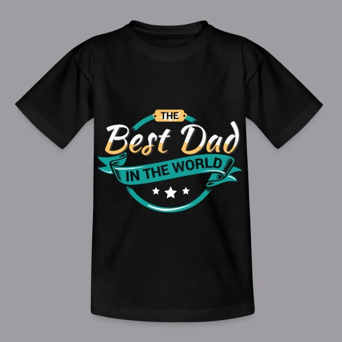 Best Dad In The World II - Kinder T-Shirt