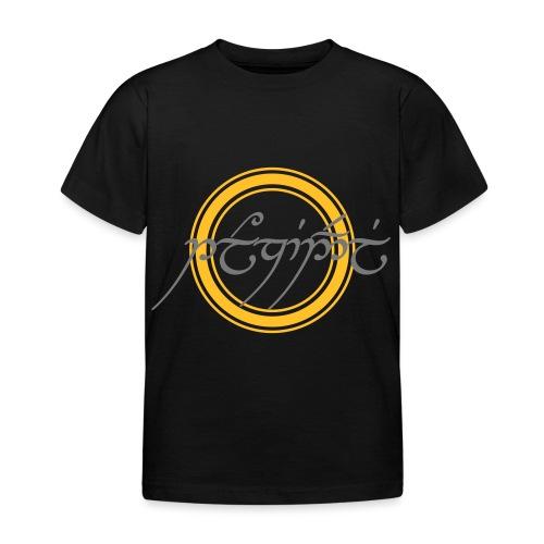 Tolkiendil en tengwar (écusson & dos) - T-shirt Enfant