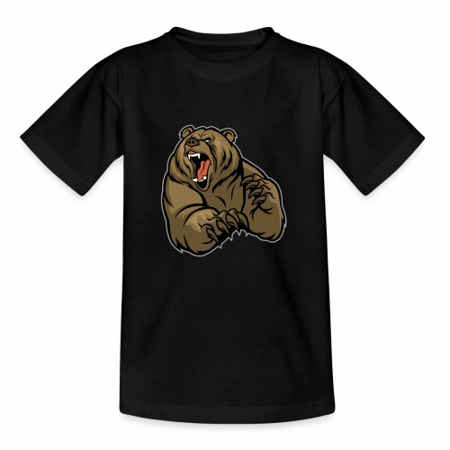 méchant grizzli - T-shirt Enfant