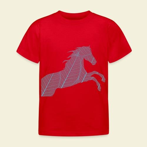 Cheval feuille - T-shirt Enfant