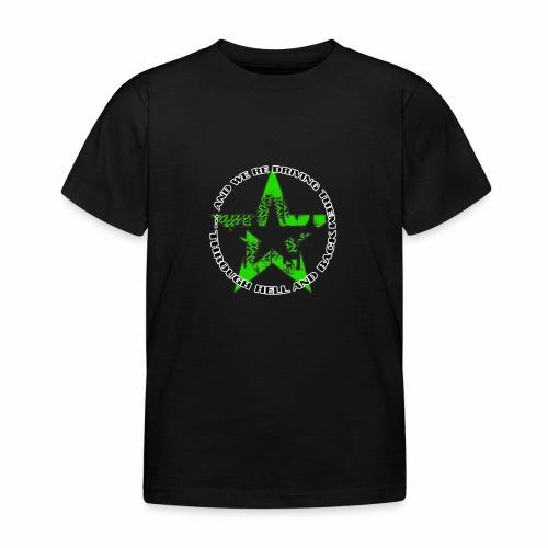 ra star slogan slime png - Kinder T-Shirt
