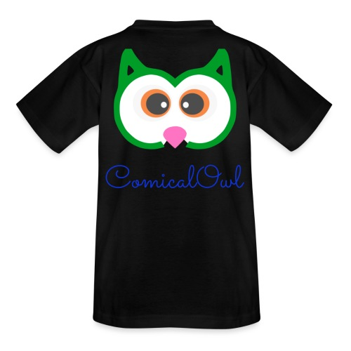 Cartoon Owl - Kids' T-Shirt