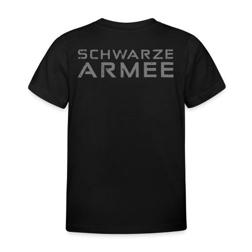 Grey Negant logo + SCHWARZE ARMEE! - Børne-T-shirt