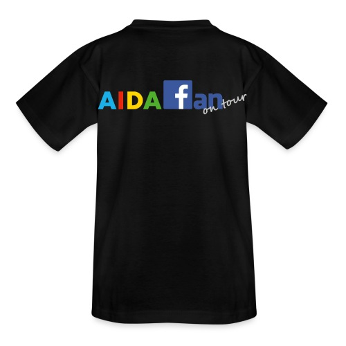 AIDA fan on tour - Kinder T-Shirt