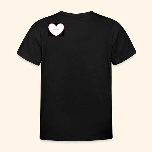 live, life, love - Kinderen T-shirt