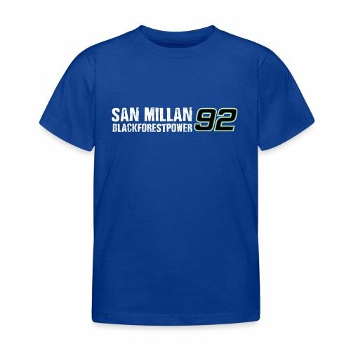 San Millan Blackforestpower 92 - vorne und hinten - Kinder T-Shirt