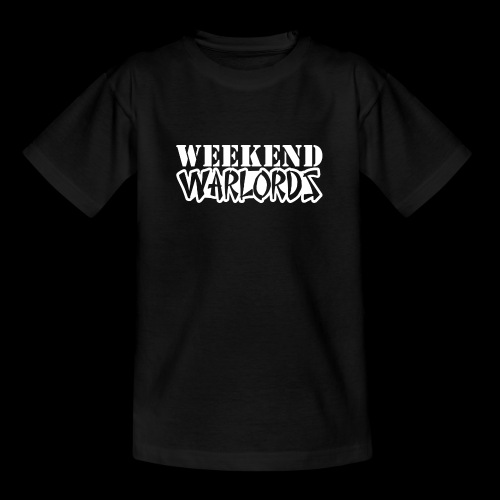 WEEKEND WARLORDS_WHITE on - Kids' T-Shirt
