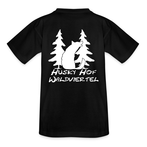 huskyhofwaldviertelbriefkopf4karand klan - Kinder T-Shirt