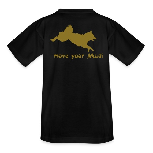 move your mudi - Kids' T-Shirt