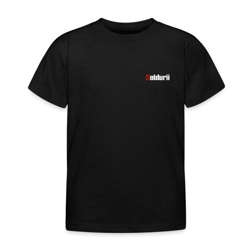 Schriftzug - Kinder T-Shirt