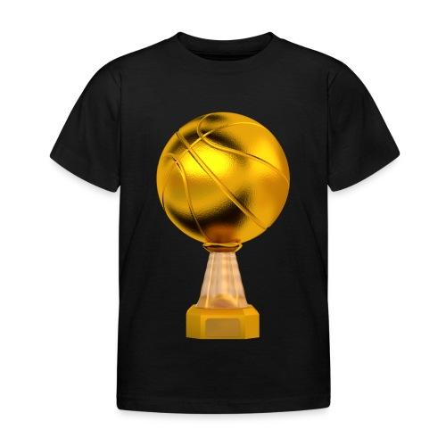 Basketball Golden Trophy - T-shirt Enfant