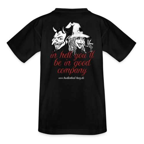 In hell... - Kinder T-Shirt
