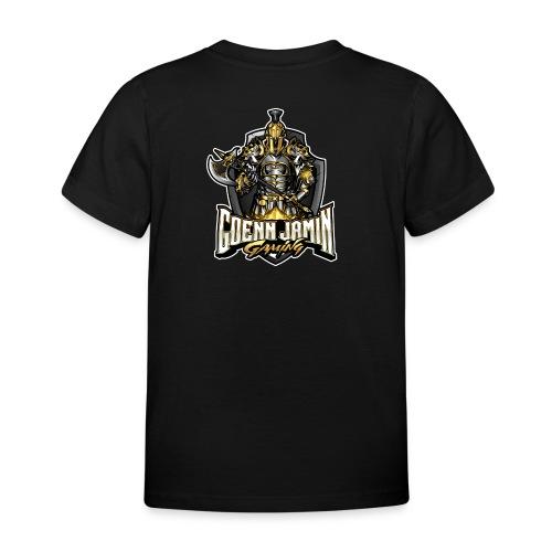 GoennjaminGaming - Logo Back Print Collection - Kinder T-Shirt