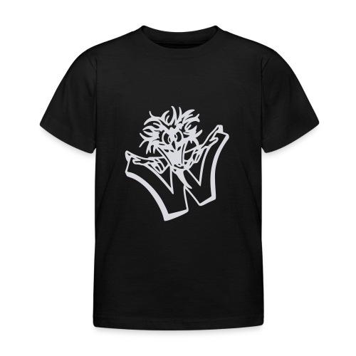 w wahnsinn - Kinderen T-shirt