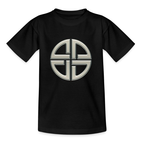 Schildknoten, Keltischer Knoten, Thor Symbol - Kinder T-Shirt