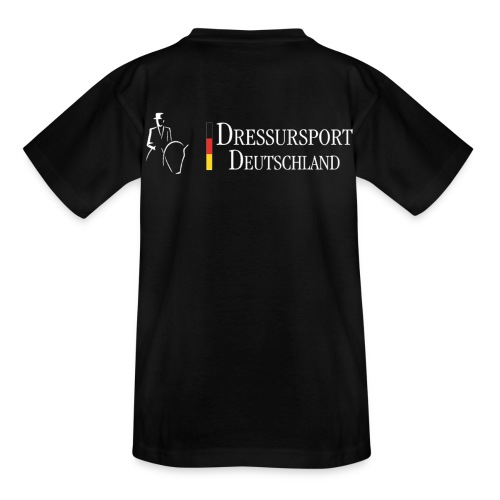dressursport deutschland horizontal r - Kinder T-Shirt