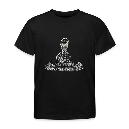 Dark Corridor Logo in Standardgröße mit Schriftzug - Kinder T-Shirt