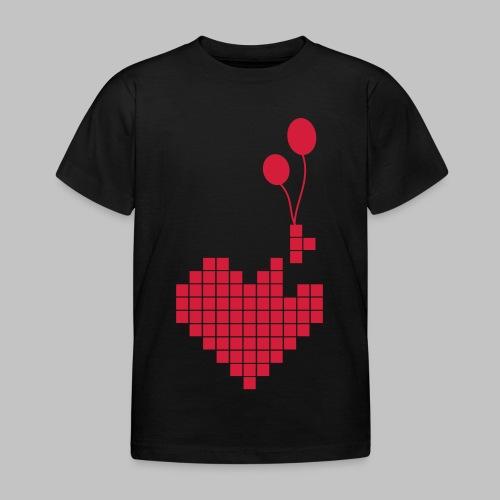 heart and balloons - Kids' T-Shirt